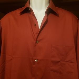 New! Van Heusen Long Sleeve Dress Shirt
